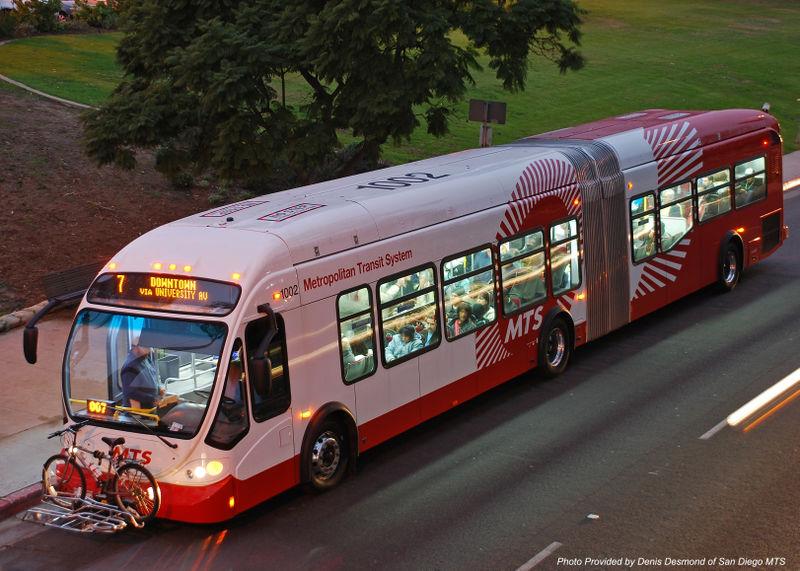 San Diego MTS BRT Photo